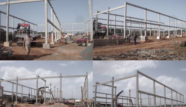 Construções de galpão